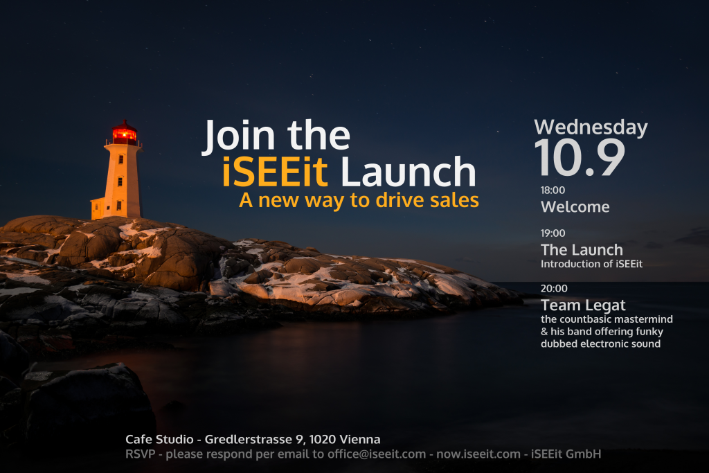 Vienna Launch Invitation