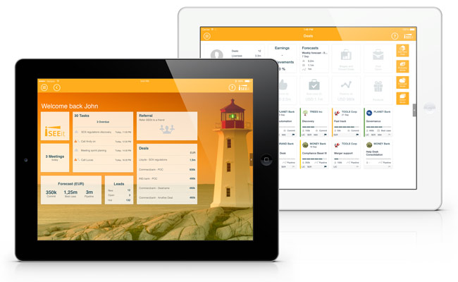 mobile crm for ipad