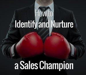 identify sales champion
