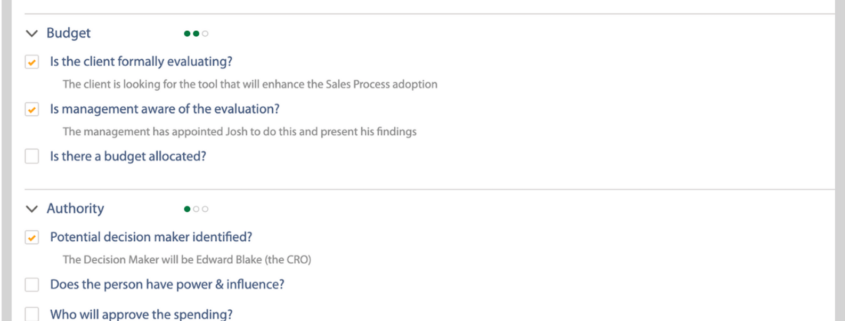 Lead Qualification on Salesforce